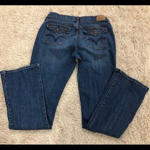 Levi's 515 Bootcut Jeans Size 8 L.